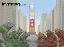 The bulls and bears fight for direction as 2017 kicks off