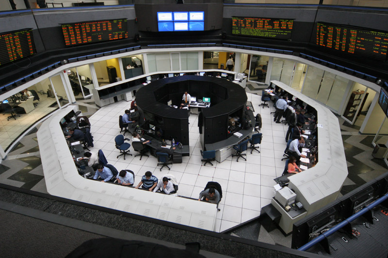 Mexico stocks lower at close of trade; IPC down 1.05%