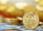 Australia, NZ dlrs advance on soggy pound, off 1-mth peak on USD