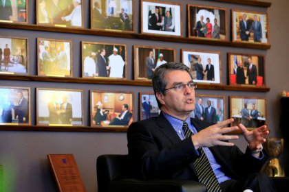 WTO chief does not foresee 'unmanageable' U.S. trade policy