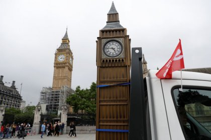 Britain's Big Ben falls silent for four years of renovation work