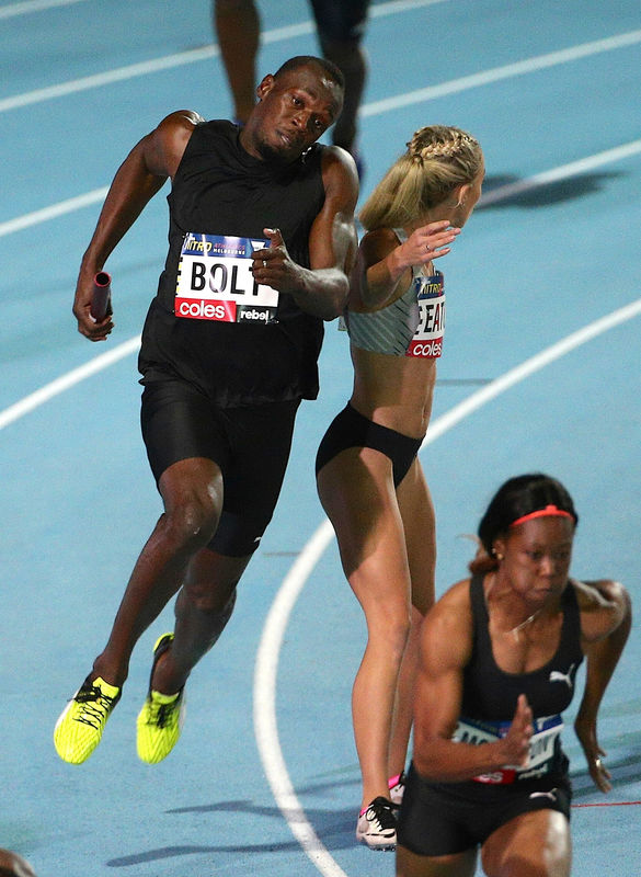 Referee mishap at Nitro Series leaves headliner Bolt fuming By Reuters
